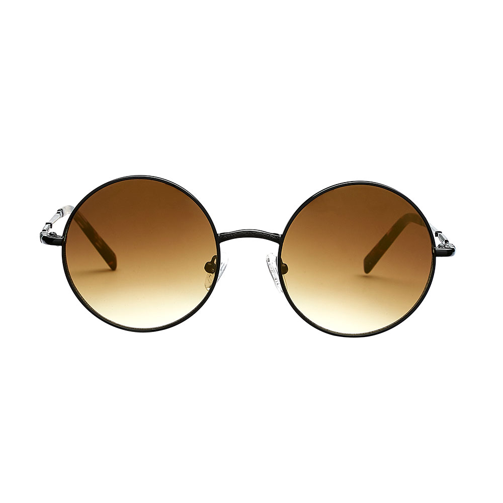 27844d39487e Foggia Sun solbrille i sort - Sorte Foggia Sun solbriller med runde glas