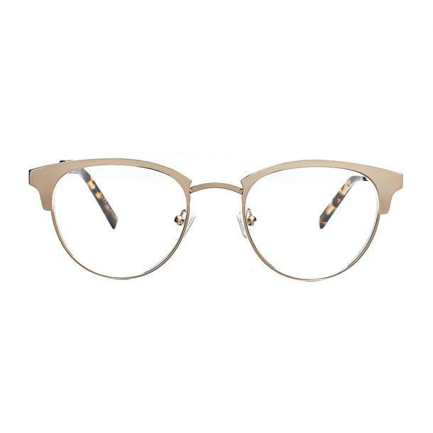 Lucca Gold Læsebrille - PREMIUM