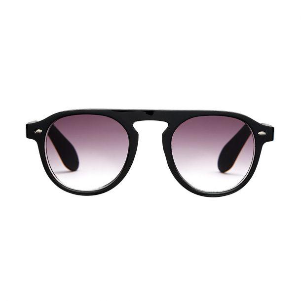 Milano Black Solbrille med styrke - CLASSIC