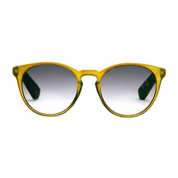Torino Olive Solbrille med styrke - CLASSIC